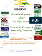 19th May,2014 Daily Global Rice E-Newsletter by Riceplus Magazine