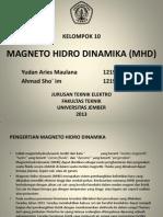 Magneto Hidro Dinamika (MHD)