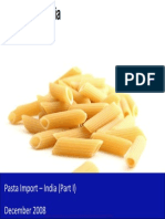 Pasta Import in India 2009 - Market Size, Drivers and Challenges
