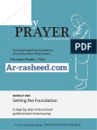 How to pray islam prayer - step by step guide to prayer ( salah, salaat,namaz )