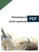Metodologia Del Diseno Arquitectonico Arq. Yoan Beltrán