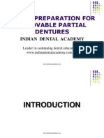 Mouth Preparation for Removable Partial Dentures / orthodontic courses by Indian dental academy