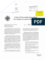 GP-08 - Wright Local 445 Letter of Governing Instructions 0107