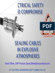Sealing Cables in Explosive Atmospheres CMP David OBrien