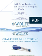 Oral Fluid Drug Testing