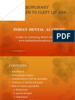 Multi Disciplinary Approach to Cleft Lip and Palate / orthodontic courses by Indian dental academy