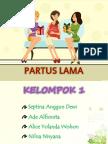 Partus Lama Ppt