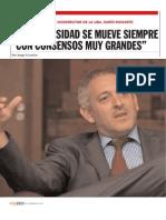 Reportaje a Dario Richarte en Revista 23