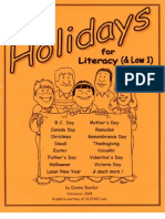 Holidays for Literacy (& Low 1)