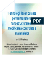 Tehnologii Laser Pulsate