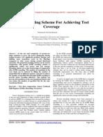 Lfsr-Reseeding Scheme For Achieving Test Coverage