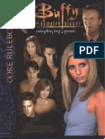 Buffy the Vampire Slayer RPG - Core Rules