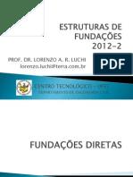 Estruturas de Fundações-diretas