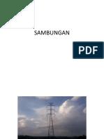 Sambungan Baja Pada Tower Listrik