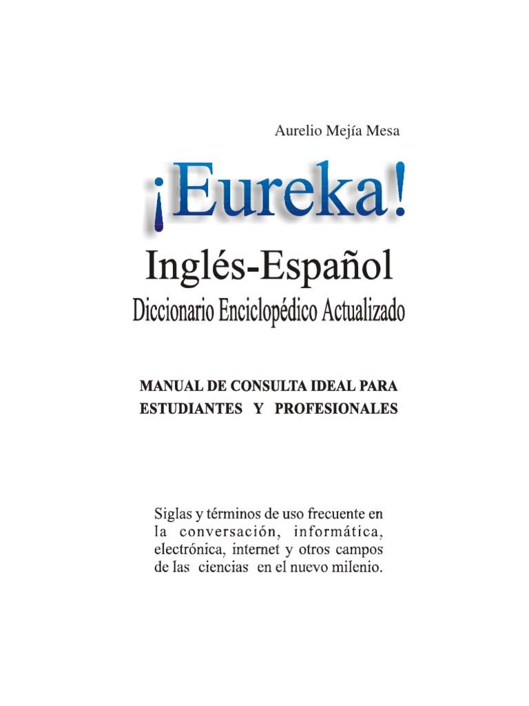 Diccionario tecnico eurekaelectronica informatica aurelio malvernweather Image collections