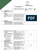 Limba Engleza L2 IX Planificare