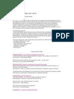 Séminaires - 2012-2012
