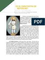 Quién Es El Zaratustra de Nietzsche