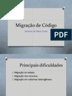 Migração de Código