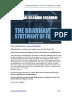 The Branhamite Statement of Faith