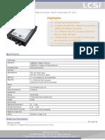 LCSI Media Converter ST CMC-U011FST-MM 2km