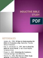 Inductive Bible Study-30!11!2007