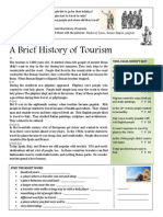 A Brief History of Tourism