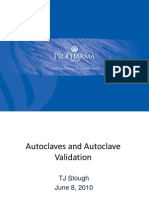 Autoclave Validation MSPDA