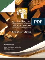 Exhibitors Manual 2014 Dubai Woodshow