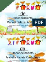 Diplomas  1° Periodo