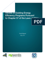 Review of Existing Energy Efficiency Programs