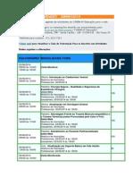 Agenda de Atiividades Junho 2014