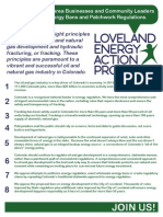 Pledge to Oppose Question 1 in Loveland