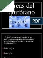 Areas Quirofano