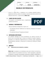 MB-PG 22 Manejo de Residuos Rev. 2