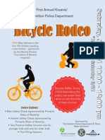 Police Bicycle Rodeo Flier