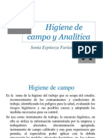 4- Higiene de Campo y Anlítico