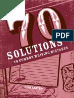 Writers Blocks & Issues
