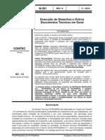 N-381 - Execução de Desenhos e Outros Documentos Técnicos Em Geral