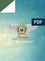Livro Almanaque Filantropia de Mians Gerais (Edição 2012)