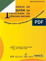 Anais I Seminario FCS