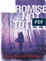 Promise Not to Tell by Jennifer McMahon Extract