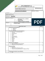 Documentación de Procedimientos