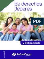 2014 Carta de Afiliados y Pacientes Saludcoop