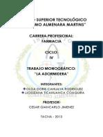 monografia adormidera