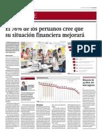 76% de Peruanos Cree Que Mejorará Su Situación Financiera_Gestión 20-05-2014