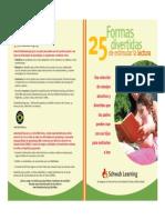 25 Formas Divertidas de Estimular La Lectura Art.