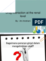 Drug Interaction at the Renal Level