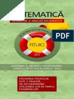 Presstern Fituica Matematica 1 Geometrie Si Analiza Matematica