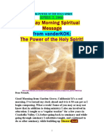 4/2/06 The POWER of the HOLY SPIRIT by VanderKOK